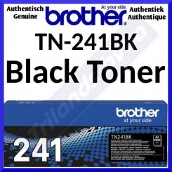 Brother TN-241BK Black Original Toner Cartridge (2500 Pages) for MFC-9140CDN, MFC-9330CDW, MFC-9340CDW, DCP-9015CDW, DCP-9020CDW, HL-3140CDN, HL-3150CDW, HL-3170CDW