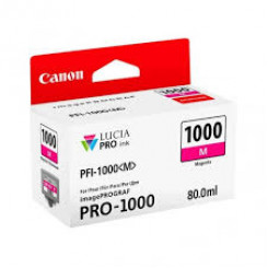 Canon PFI-1000M Magenta Original Ink Tank Cartridge 0548C001 (80 ml) for Canon ImagePROGRAF PRO-1000