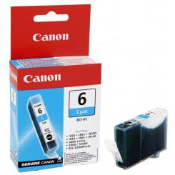 Canon BCI-6C Cyan Original Ink Cartridge 4706A002 (15 Ml.) for Canon S800, S820, S820D, S830, S830D, S900, 9000, BJC 8200, I865, I905D, I905, I965, I990, I9100, I9950, Pixma MP750, MP760, MP780, IP3000, IP4000, IP4000R, IP5000, IP6000, IP6000D, IP8500