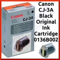 Canon CJ-3A Black Original Ink Cartridge 0136B002