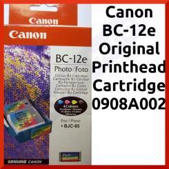 Canon BC-12e Original Printhead Cartridge 0908A002