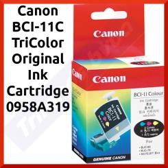 Canon BCI-11C TriColor Original Ink Cartridge 0958A319