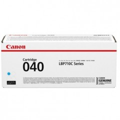 Canon 040 Cyan Toner Cartridge (5400 pages) - Original Canon pack for I-Sensys LBP-710, LBP-710C, LBP-712C Series