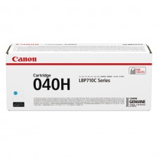 Canon 040H Cyan Toner Cartridge (10000 pages) - Original Canon pack for I-Sensys LBP-710, LBP-710C, LBP-712C Series
