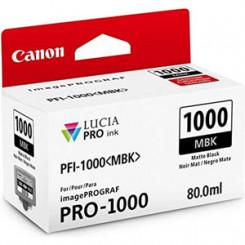 Canon PFI-1000MBK Matte Black Original Ink Tank Cartridge (80 ml) for Canon imagePROGRAF PRO-1000
