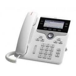 Cisco IP Phone 7841 - VoIP phone - SIP, SRTP - 4 lines - white - TAA Compliant