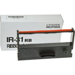 Citizen IR-31BR Black / Red Original Nylon Ribbon (3000150) for Citizen CDS-500, CDS-501, CDS-503