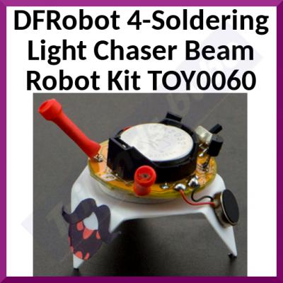 DFRobot 4-Soldering Light Chaser Beam Robot Kit TOY0060