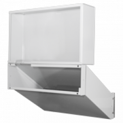 DoorBird D2101FPBx Flush-mounting mail chute, Stainless steel