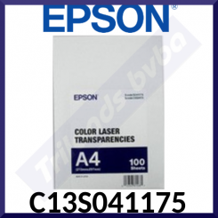 Epson Laser Colour Transparency C13S041175 - 140g/m² - (A4) 210 mm X 297 mm - 100 Sheets
