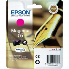 Epson 16 Magenta Original Ink Cartridge C13T16234012 (3.1 ml)