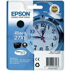 Epson 27XL High Capacity Black Original Ink Cartridge C13T27114012 (17.7 Ml) for Epson WorkForce WF-3620DNF, WF-3620DWF, WF-3620DWFX, WF-3640DTWF, WF-7110, WF-7110DTW, WF-7110WF, WF-7610, WF-7610DWF, WF-7610WF, WF-7620, WF-7620DTWF, WF-7620DWF