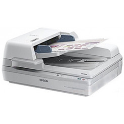 Epson WorkForce DS-70000 - Document scanner - Duplex - A3 - 600 dpi x 600 dpi - up to 70 ppm (mono) / up to 70 ppm (colour) - ADF ( 200 sheets ) - up to 8000 scans per day - USB 2.0 - USB 2.0