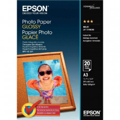 Epson Glossy Inkjet Photo Paper C13S042536 - 279 mm X 420 mm (A3) - 200 Grams/M2 - 20 sheets per pack