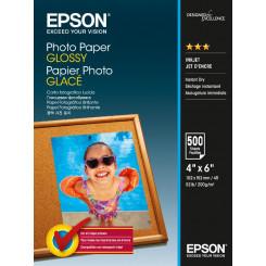 Epson Glossy Inkjet Photo Paper C13S042549 - 10 cm X 15 cm - 200 g/m²- 500 Sheets Pack