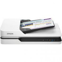 Epson WorkForce DS-1630 - Document scanner - Duplex - A4 - 1200 dpi x 1200 dpi - up to 25 ppm (mono) / up to 25 ppm (colour) - ADF (50 sheets) - up to 1500 scans per day - USB 3.0