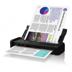 Epson WorkForce DS-310 - Document scanner - Duplex - A4 - 600 dpi x 600 dpi - up to 25 ppm (mono) / up to 25 ppm (colour) - ADF (20 sheets) - up to 500 scans per day - USB 3.0