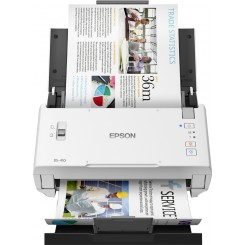 Epson WorkForce DS-410 Power PDF - Document scanner - Contact Image Sensor (CIS) - Duplex - A4/Legal - 600 dpi x 600 dpi - up to 26 ppm (mono) / up to 26 ppm (colour) - ADF (50 sheets) - up to 3000 scans per day - USB 2.0