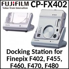 Fujifilm F402 Digital Camera Docking & Recharging USB Cradle (CP-FX402) for Finepix F402, F455, F460, F470, F480