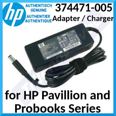 HP 90W Notebook Smart Power Adapter 374471-005