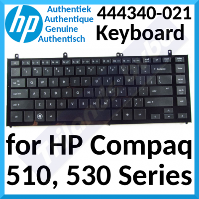 HP Compaq Replacement Genuine Qwerty US International Keyboard (444340-021) for HP Compaq 510, 530 Series