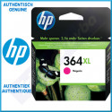 HP 364XL Magenta High Yield Original Ink Cartridge CB324EE (750 Pages) - Outdated Sealed Original HP Pack