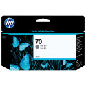 HP 70 Gray Original Ink Cartridge C9450A (130 Ml) for HP DesignJet Z2100, Z2100gp, Z3100, Z3100gp, Z3100ps gp, Z3200, Z3200ps, Z5200ps