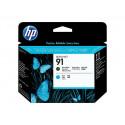 HP 91 Matte Black + Cyan Original Printhead C9460A for HP DesignJet Z6100, Z6100ps