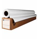 HP White Coated Inkjet Paper Roll C6568B - 90g/m2 - 1372 mm X 45.7 Meters