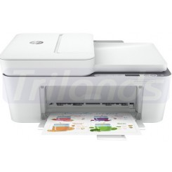 HP Deskjet 4120e All-in-One - Multifunction printer - colour - ink-jet - A4 (210 x 297 mm) (original) - A4/Legal (media) - up to 6 ppm (copying) - up to 8.5 ppm (printing) - 60 sheets - 14.4 Kbps - USB 2.0, Wi-Fi(n), Bluetooth - cement