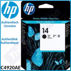HP 14 Black Original Printhead C4920AE - Outdated Sealed Original HP Pack