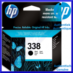 HP 338 Black Original Ink Cartridge C8765EE (450 pages) for HP OfficeJet 6205, 6208Aio, 6210Aio, 6213Aio, 6215Aio, 7205Aio, 7208Aio, 7210Aio, 7213Aio, 7215Aio, 7218Aio, 7310Aio, 7313Aio, 7408Aio, 7410Aio, 7413Aio, H470, K7100, K7103