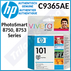 HP 101 Photo Blue Original Ink Cartridge C9365AE (340 Prints) for HP PhotoSmart 8750, 8750gp, 8753