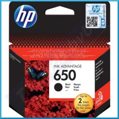 HP 650 Black Original Ink Cartridge CZ101AE (360 Pages)