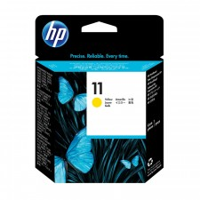 HP 11 Yellow Original Ink Cartridge C4838A (1750 Pages) for HP DesignJet ColorPro, 70, 100, 110, 500, 800, 815 Series