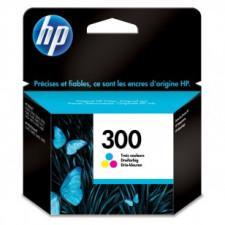 HP 300 Tri-Color Original Ink Cartridge CC643EE (165 Pages)