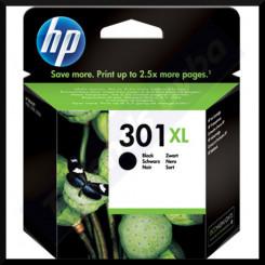 HP 301XL Black High Capacity Original Ink Cartridge CH563EE (480 Pages)