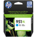 HP 951XL Cyan High Capacity Original Ink Cartridge CN046AE (1500 Pages) for HP OfficeJet Pro 251dw, 276dw mfp, 8100, 8600, 8610, 8620 Series