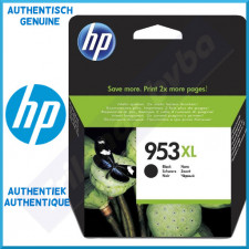 HP 953XL Black High Capacity Original Ink Cartridge L0S70AE (2500 Pages - 42.5 ml) for HP OfficeJet Pro 8210, 8218, 8710, 8720, 8730, 8740 Series