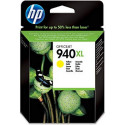 HP 940XL Yellow High Capacity Original Ink Cartridge C4909AE (1400 Pages) for HP OfficeJet Pro 8000, 8500 Series