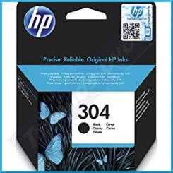 HP 304 Black Original Ink Catridge N9K06AE#ABE (120 Pages)