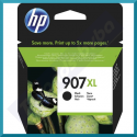 HP 907XL Black Extra High Capacity Original Ink Cartridge T6M19AE (1500 Pages) for HP Officejet Pro 6960, 6961, 6970, 6971, 6974, 6975