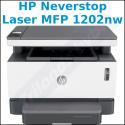 HP Neverstop Laser MFP 1202nw - Multifunction Printer - B/W - (Print / Copy / Scan) - WiFi