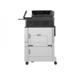 HP Color LaserJet Enterprise flow MFP M880z - A3 - Color - Multifunction printer - laser - up to 46 ppm (printing) - 2100 sheets - 33.6 Kbps - USB 2.0, Gigabit LAN, USB host, USB host (internal)