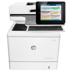 HP Color LaserJet Enterprise flow MFP M577c - Color Multifunction Laser Printer (B5L54A) - USB 2.0, Gigabit LAN, USB 2.0 host