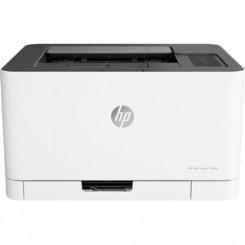HP 150nw Color Laser Printer 4ZB95A#B19 - 19 ppm Mono / 4 ppm Color - 600 x 600 dpi Print - Manual Duplex Print - 150 Sheets Input - Fast Ethernet - Wireless LAN
