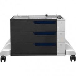HP Color LaserJet 3x500-sheet Paper Feeder and Stand (CE725A) for Color LaserJet Enterprise CP5525dn, CP5525n; LaserJet Enterprise 700