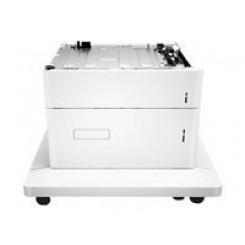 HP Color LaserJet 550 / 2000-sheet (Total Capacity 2550 Sheets) HCI Feeder and Stand (P1B12A) - for Color LaserJet Enterprise M652, M653
