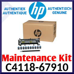 HP C4118-67910 LaserJet Genuine Maintenance kit - 220V (200000 Pages) for HP LaserJet 4000, 4000n, 4000t, 4000tn, 4000se, 4050, 4050n, 4050t, 4050tn, 4050se - Special Price