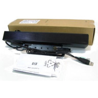 HP NQ576AA USB Wired LCD Bar Speakers for LA1905, LA22, LE19, LE1911, LE2001, ZR22, ZR24, ZR30; All-in-One 100; DreamColor LP2480 and other monitors